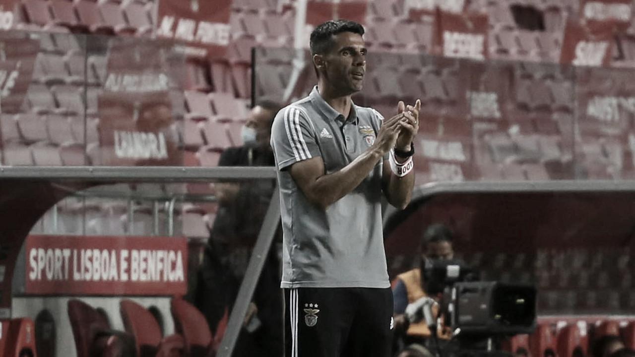 Nélson Veríssimo garante foco do Benfica apesar de poucas chances de título