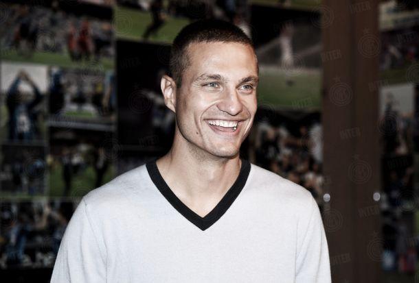 Nemanja Vidic, première recrue estivale de l'Inter Milan