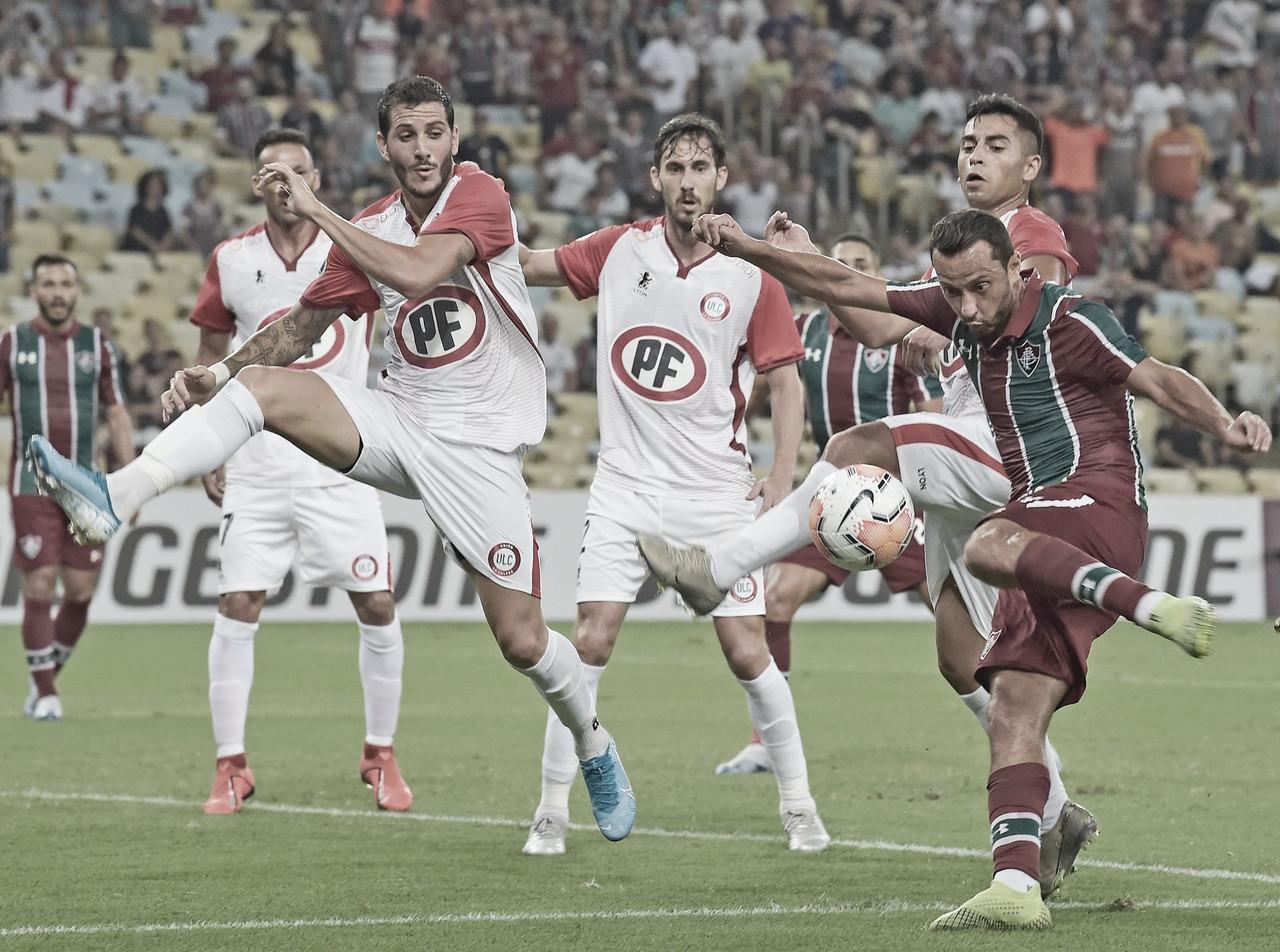 Em jogo tecnicamente fraco, Fluminense e Unión La Calera empatam no Maracanã