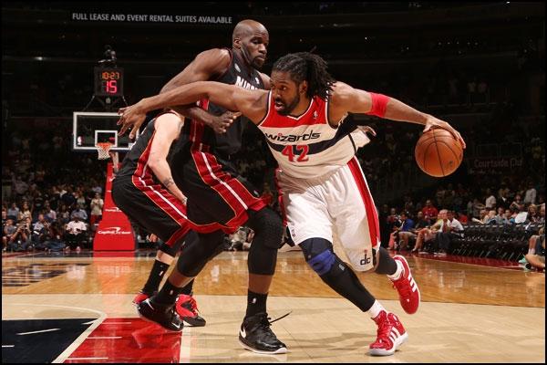 Sem as estrelas em quadra, Heat vence Wizards
