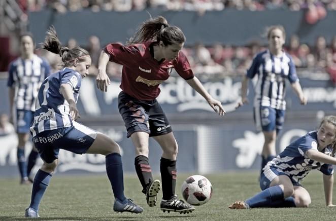 Osasuna Femenino comunica cuatro bajas para la temporada que viene