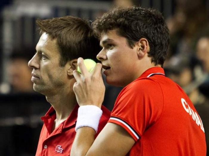 Milos Raonic, Daniel Nestor Out Of Davis Cup For Canada