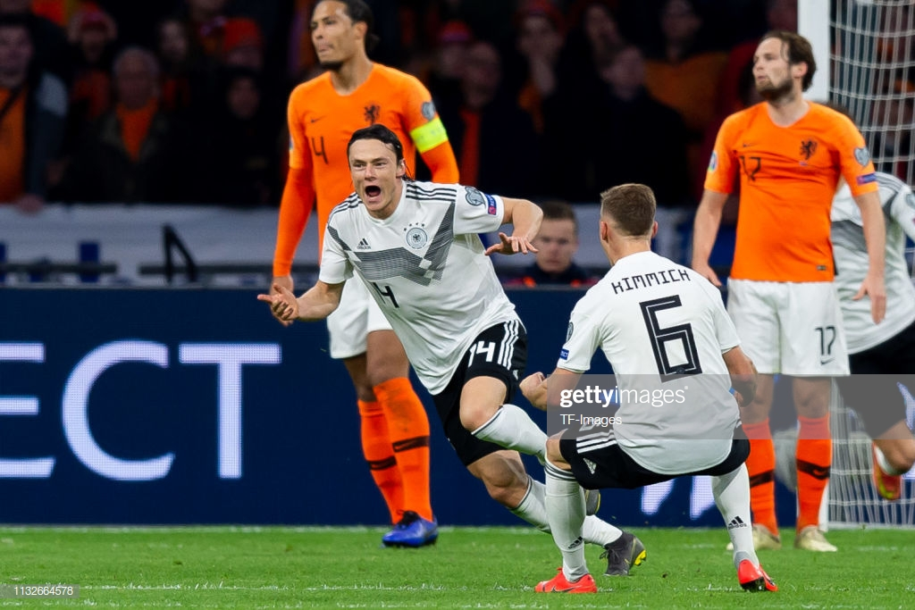Netherlands 2-3 Germany: Late winner frustrates the Dutch and gets Low out of jail