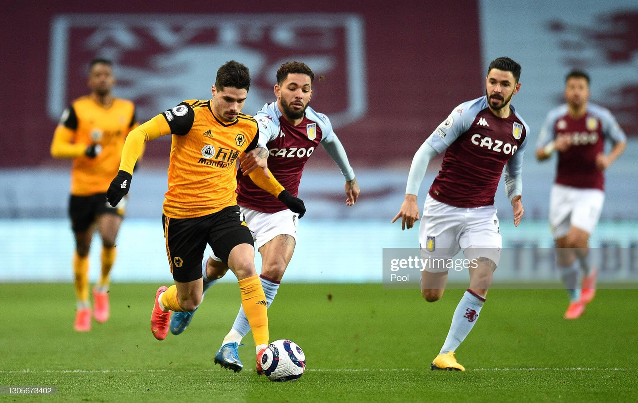 """Pedro Neto believes Wolves' """"attitude was missed"""" in the first-half for their goalless draw with Aston Villa"""