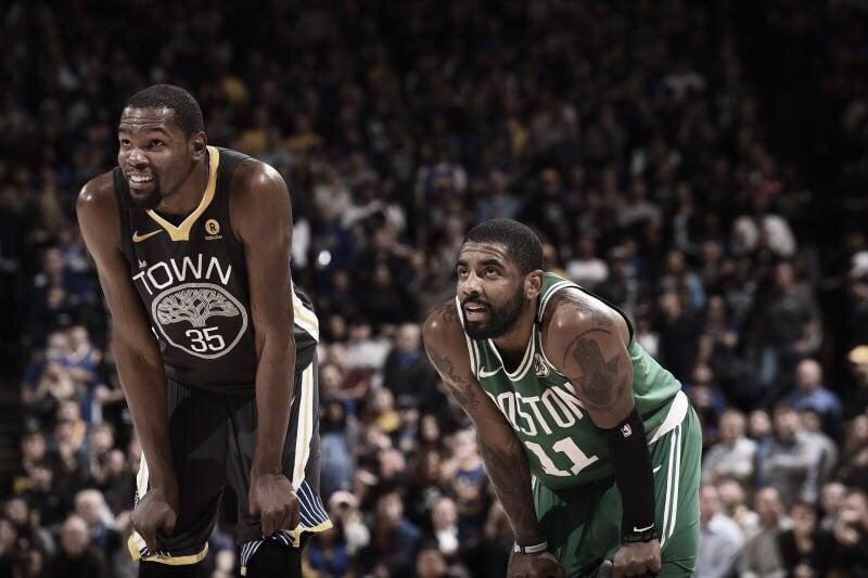 Irving y Durant llegan a Brooklyn