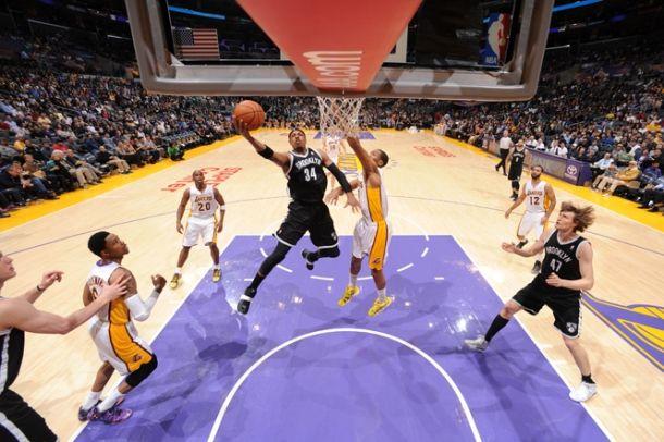 Hello Brooklyn,bye bye Lakers