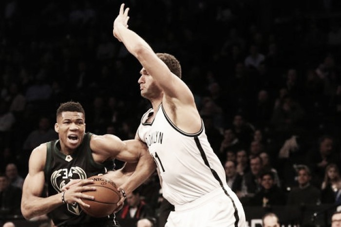 Milwaukee Bucks defeat Brooklyn Nets, 129-125 to sweep season series