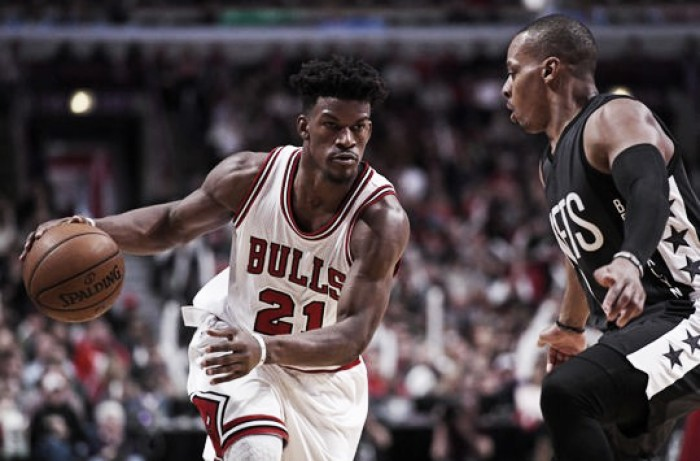 Jimmy Butler hits game winner to help Chicago Bulls triumphed over Brooklyn Nets, 101-99