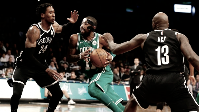 Boston Celtics earn their 13th straight win against Brooklyn Nets