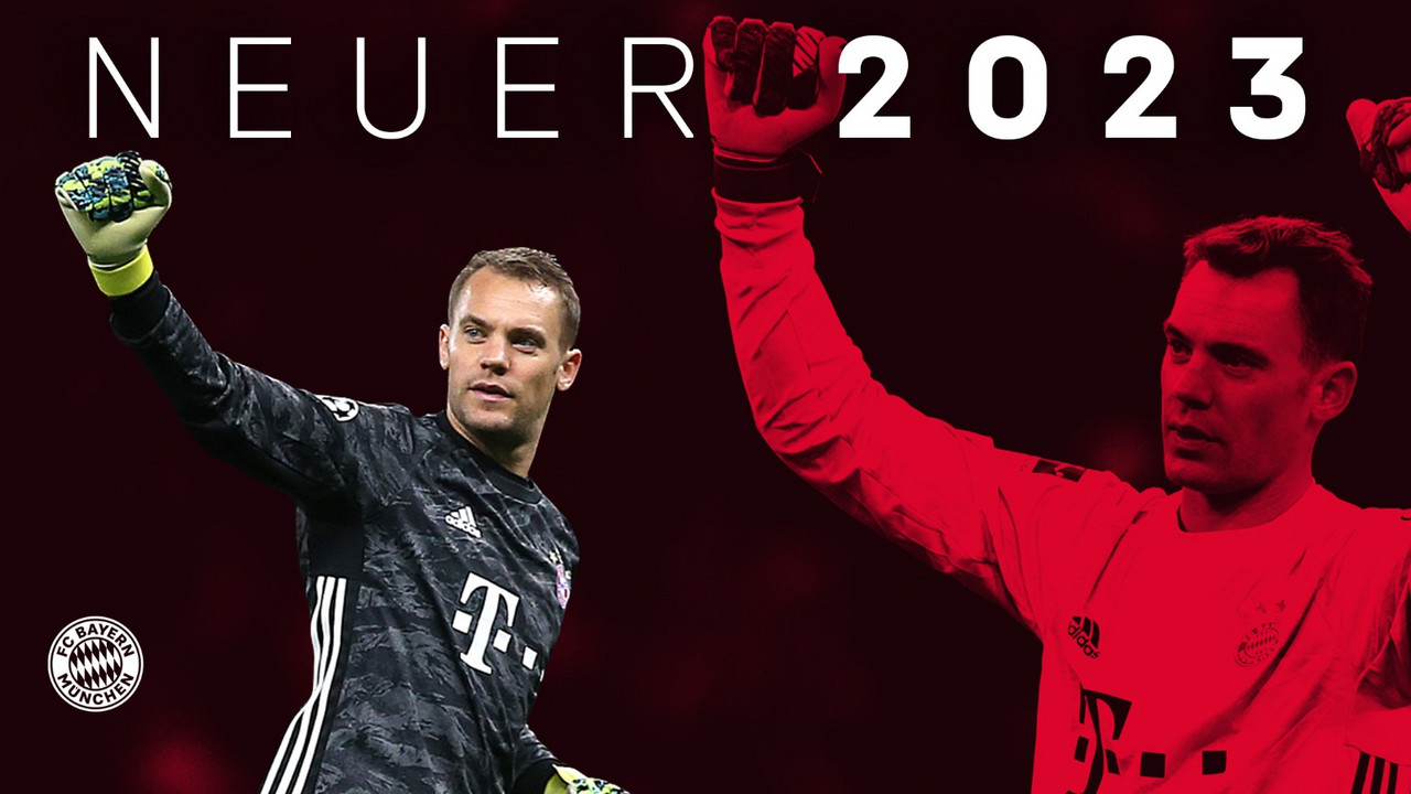 Manuel Neuer Extends Bayern Munich Contract Until 2023