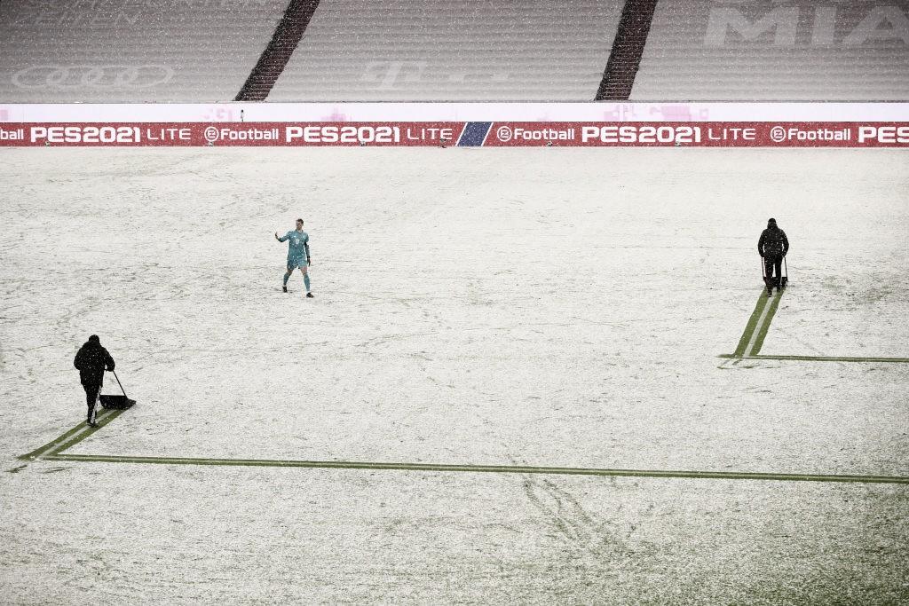 Neve é protagonista, e Bayern de Munique arranca empate com Arminia Bielefeld