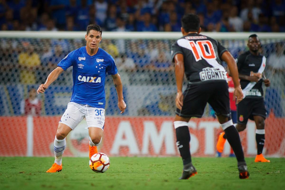 Jogo Cruzeiro x Vasco no Campeonato Brasileiro 2018