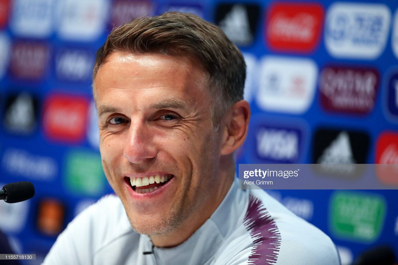 Phil Neville confident ahead of SheBelieves tournament with Lionesses