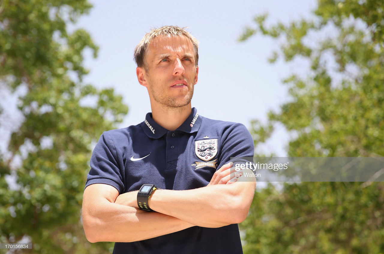 Phil Neville firm with winning belief