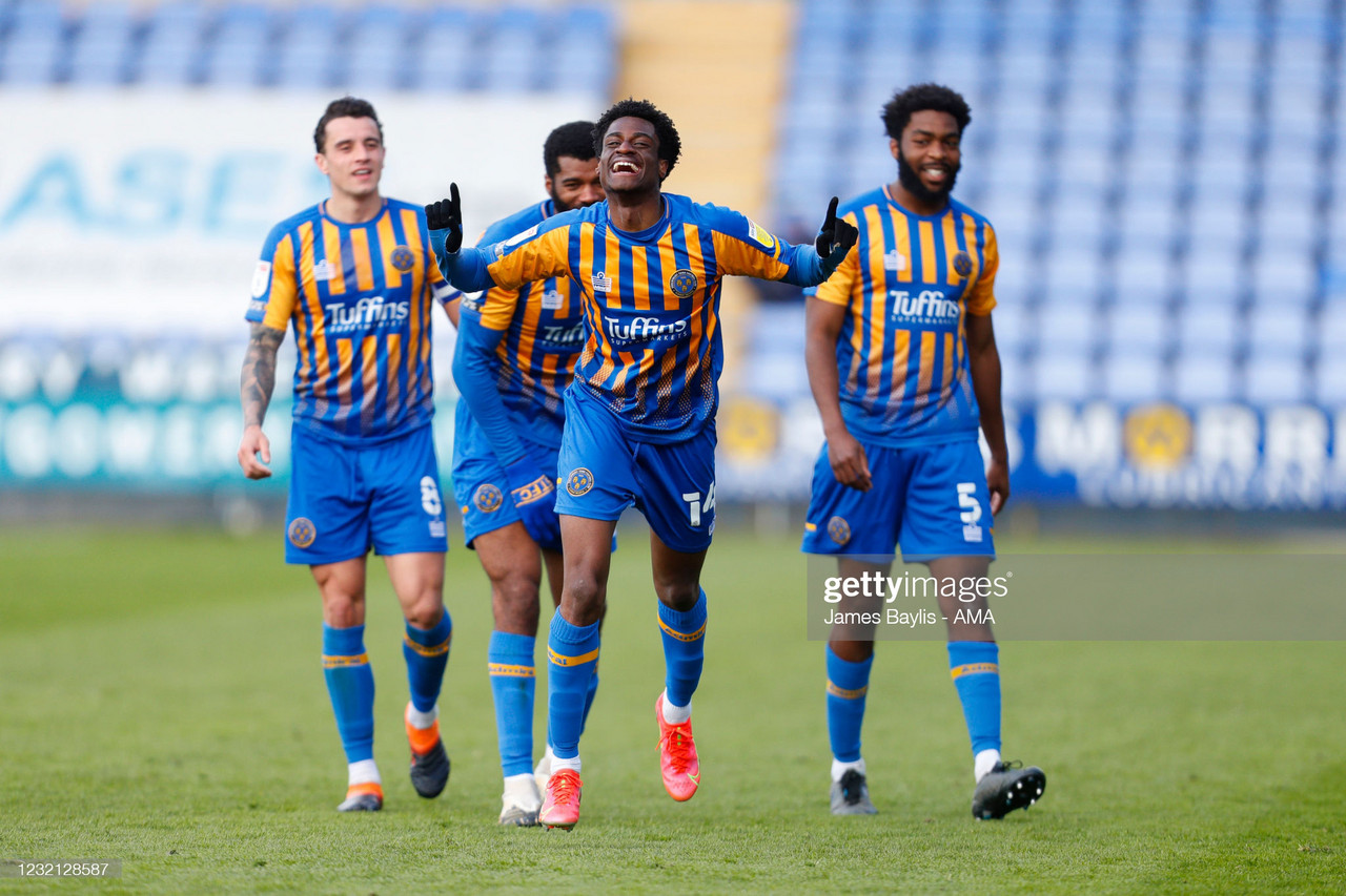 Shrewsbury 3-0 Plymouth: Argyle take foot off gas following 50-point landmark