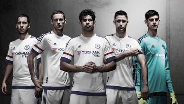 Chelsea return to white away kit for 2015/16