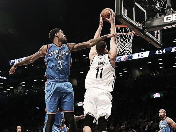 Brooklyn infierisce sui Thunder ed è showtime nell'esordio casalingo