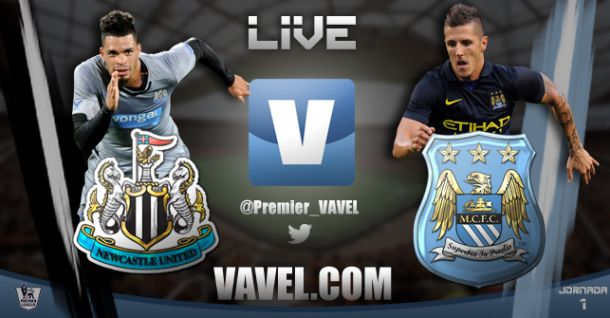Premier League: Newcastle vs Manchester City en vivo online