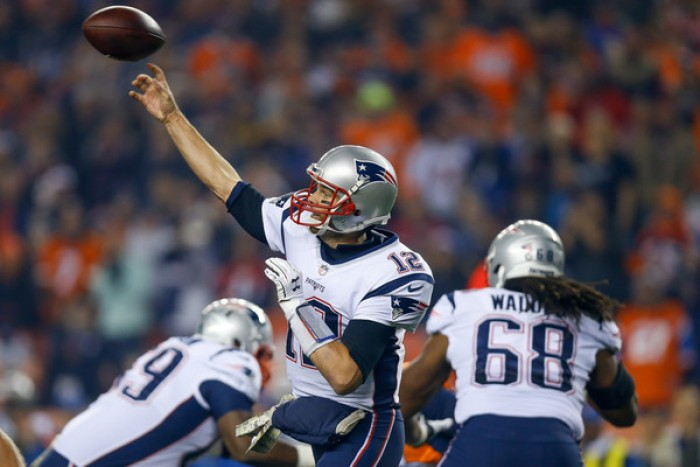 New England Patriots rout the Denver Broncos on Sunday Night Football