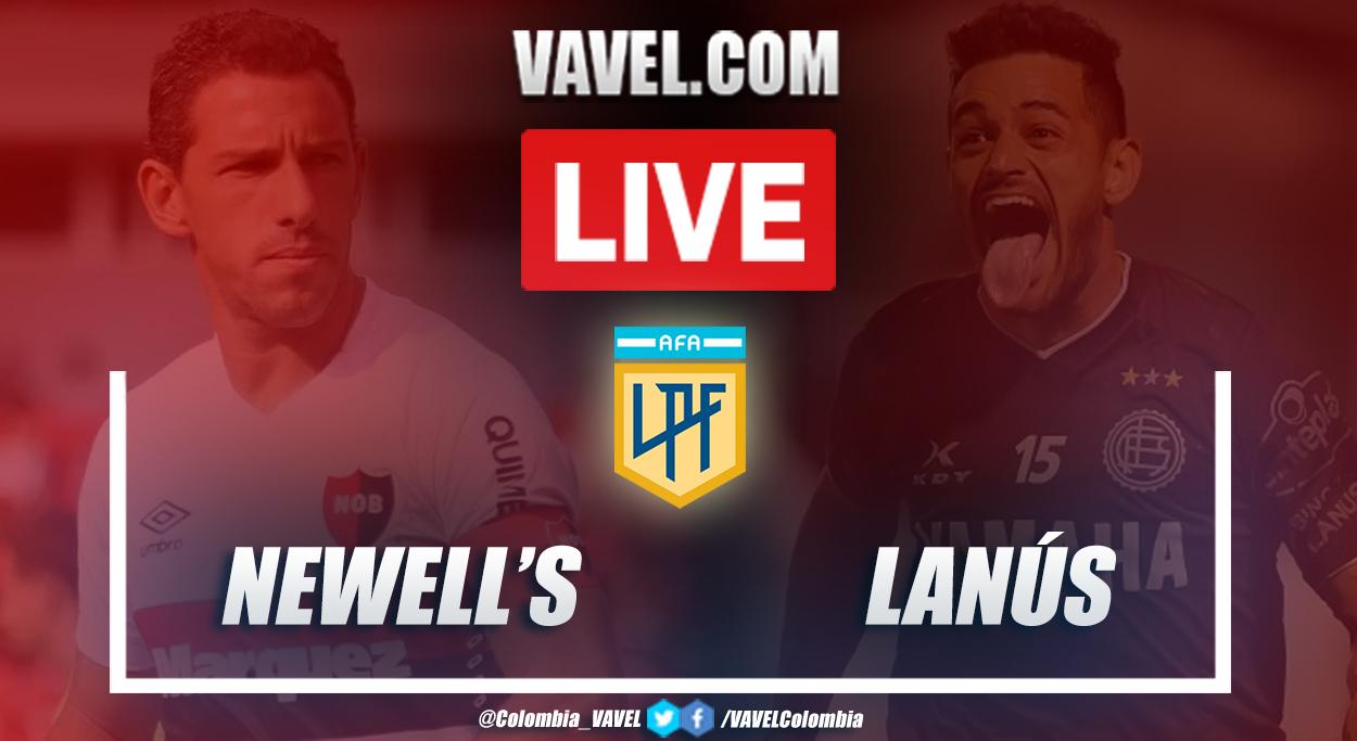 Resumen Newell's vs Lanús (3-1) por la Copa Diego Armando Maradona