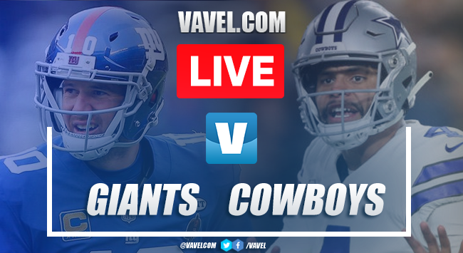 Touchdowns and Highlights: New York Giants 17-35 Dallas Cowboys, 2019 NFL Season