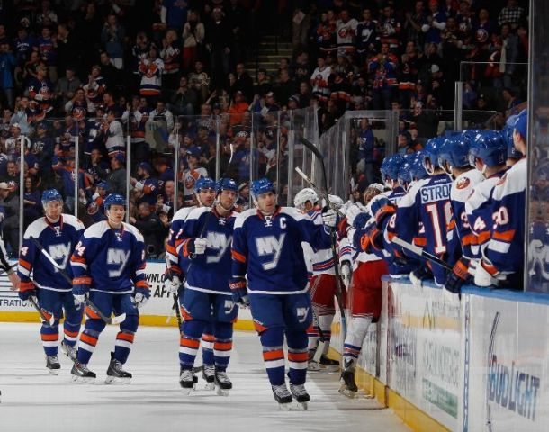 Islanders Win Battle of New York City, Beating Rangers 4-1