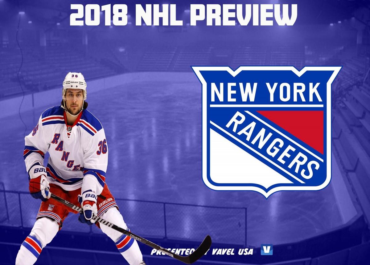 New York Rangers: NHL 2018/19 season preview