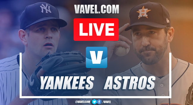 Yankees vs Astros: LIVE Stream Online and ALCS Game 2 Updates (2-1)