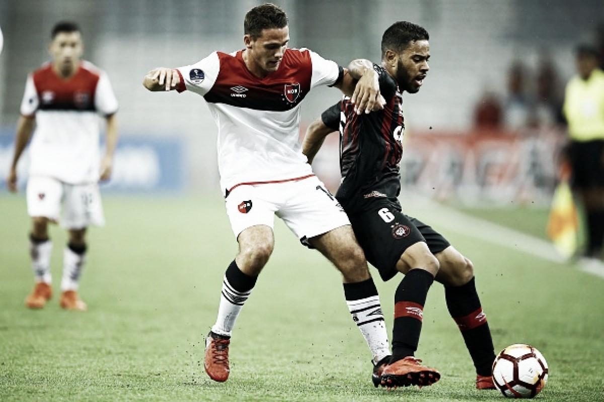 Atlético-PR defende grande vantagem diante do Newell's para avançar na Sul-Americana
