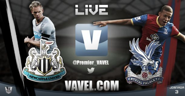 Newcastle United vs Crystal Palace en vivo y en directo online