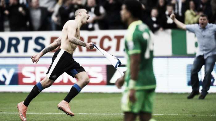Newcastle United 1-1 Sunderland: Mitrovic rescues a point for the Toon