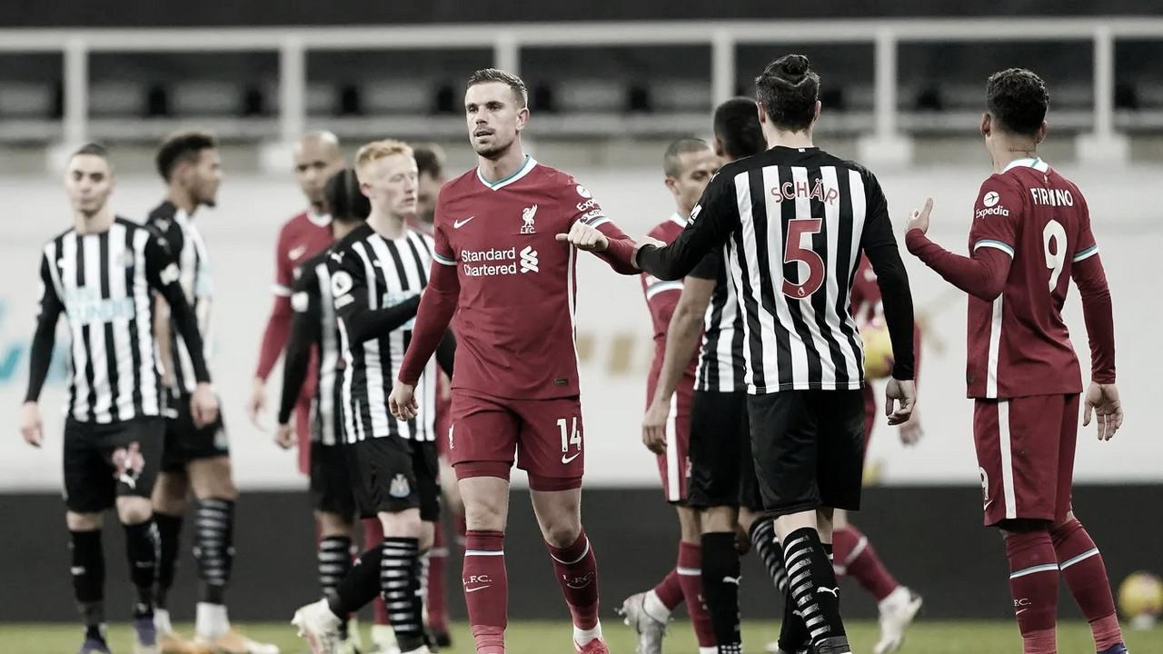El Liverpool se vuelve a dejar puntos ante el Newcastle