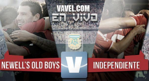 Resultado Newell's Old Boys - Independiente 2015 (2-3)