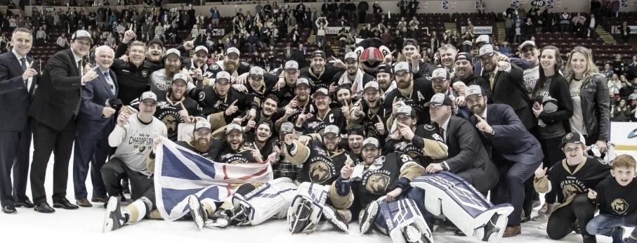 Newfoundland Growlers campeones de la Kelly Cup 2019