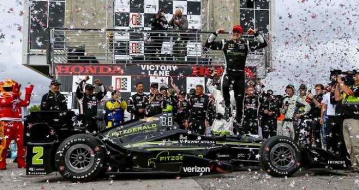 Indycar, in Alabama domina Power ma vince Newgarden