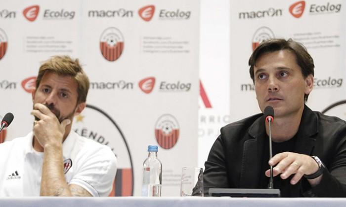 Montella: Europa League non esclude il campionato. Suso? Non lo rischio