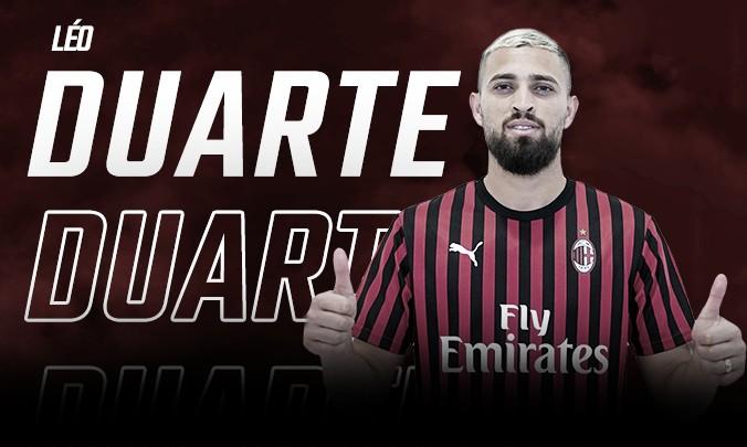 Milan oficializa contratação de Léo Duarte por cinco anos