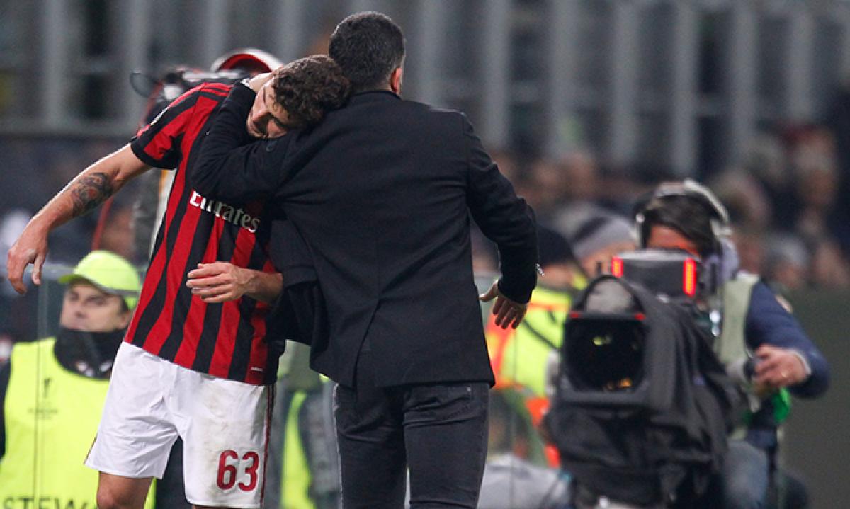 Europa League, Gattuso carico: