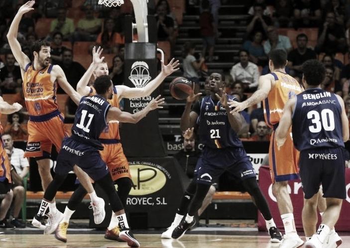 Previa Valencia Basket - Morabanc Andorra: el anfitrión se estrena ante un Andorra tocado