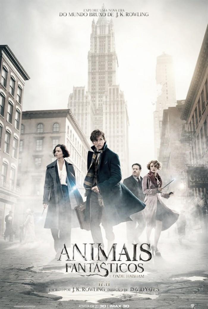CRÍTICA – Animais Fantásticos e Onde Habitam