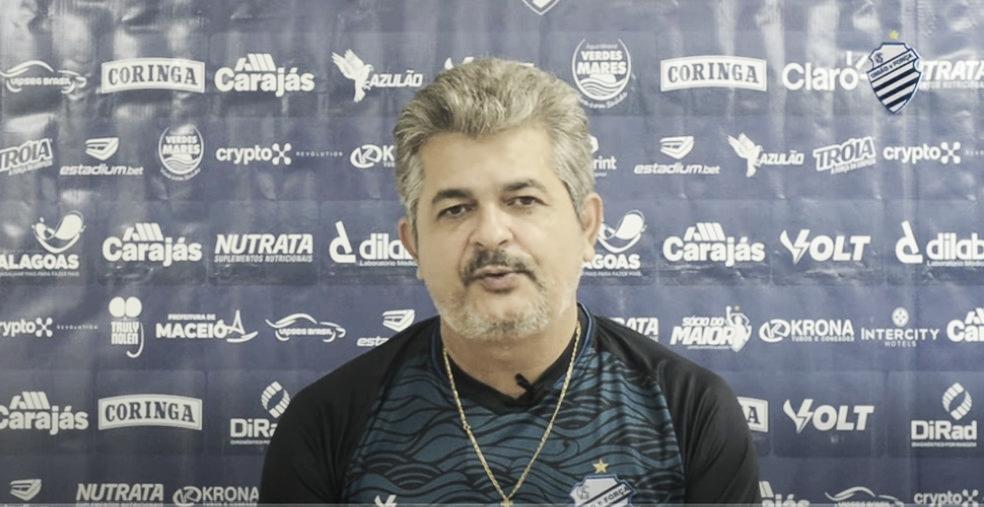 Ney Franco vê CSA apático e aponta desfalque de última hora como decisivo em derrota para Náutico