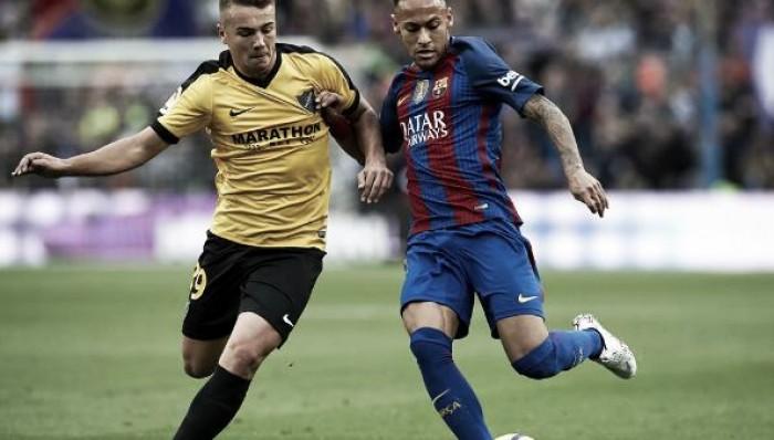 Sem Messi e Suárez, Barcelona não consegue furar bloqueio e fica no zero com Málaga