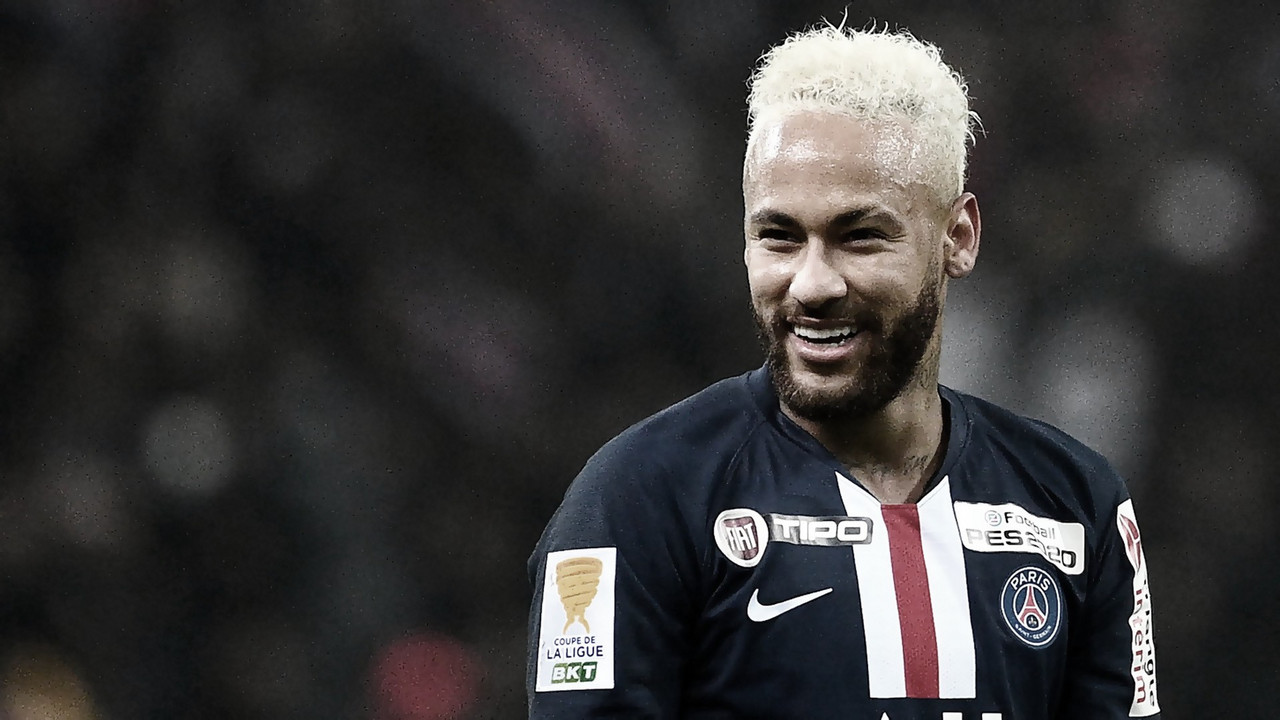Neymar jokes with Beckham about playing at Inter Miami