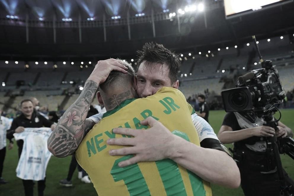 Neymar, el destacado de Brasil