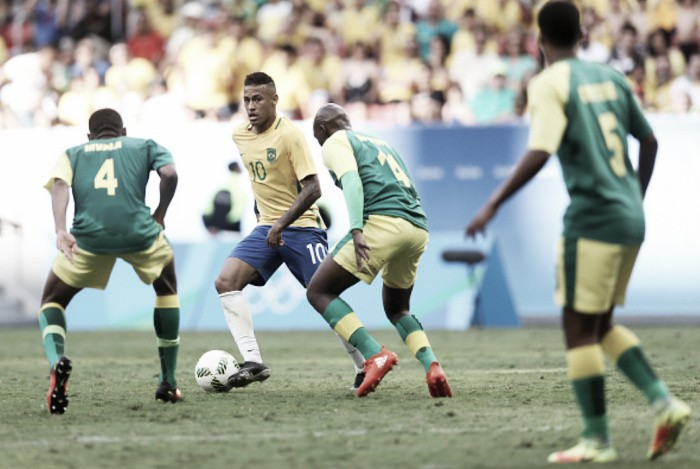 Rio 2016: Brazil 0-0 South Africa - Home nation disappointing during goalless draw