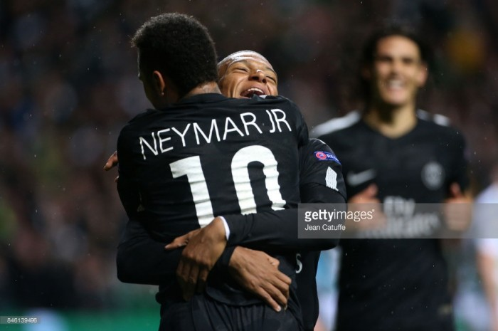 Celtic 0-5 Paris Saint-Germain: Parisian stars clinical in rout