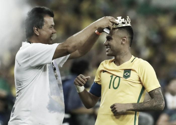 """Após ouro olímpico, Neymar repete Zagallo: """"Vocês vão ter que me engolir"""""""
