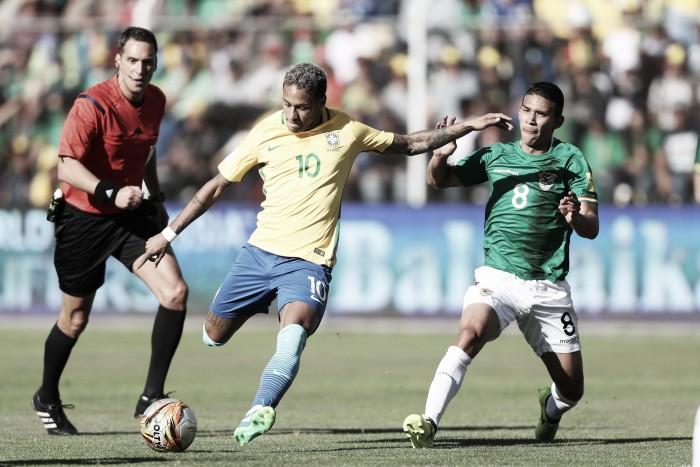 Neymar reclama dos efeitos da altitude de La Paz: ''Desumano''