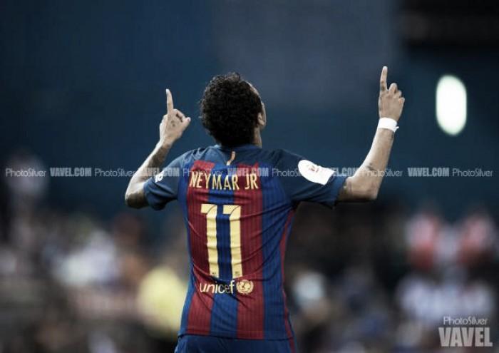Neymar Jr, tres finales de Copa consecutivas marca ...
