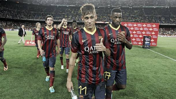 """Neymar: """"Ha sido un partido especial para mí"""""""